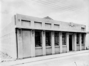 Ellison and Duncan Ltd. building, post 1933 Waghorne Street, Ahuriri, gifted by Margaret Hay  collection of the Hawke's Bay Museums Trust, Ruawharo Tā-ū-rangi, m99/97/117