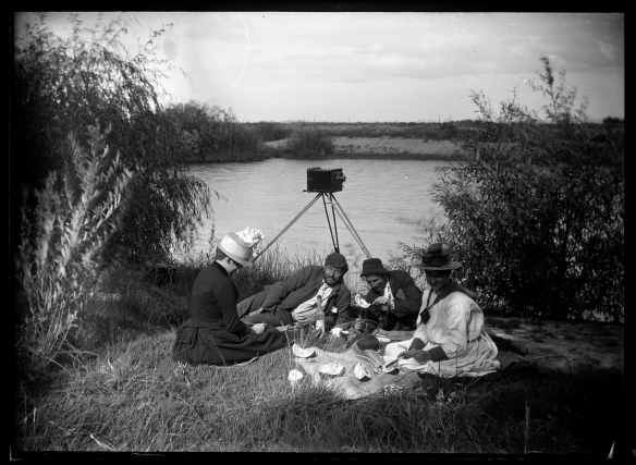 Picnic, image taken by Russell Duncan c1890's