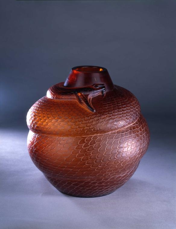 Vase Serpent ©Lalique SA