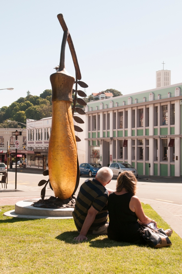 'The Gold of the Kowhai', artist Paul Dibble